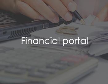 Financial portal