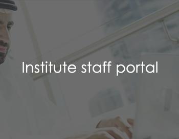Institute staff portal